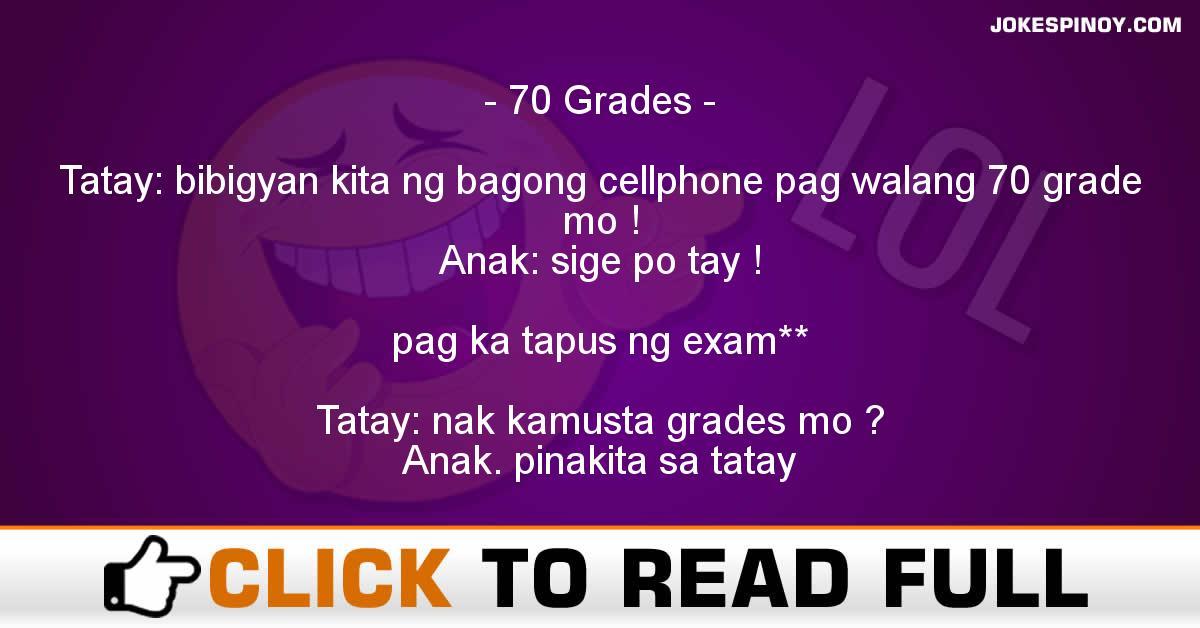 70 Grades