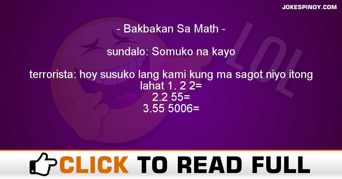 Bakbakan Sa Math
