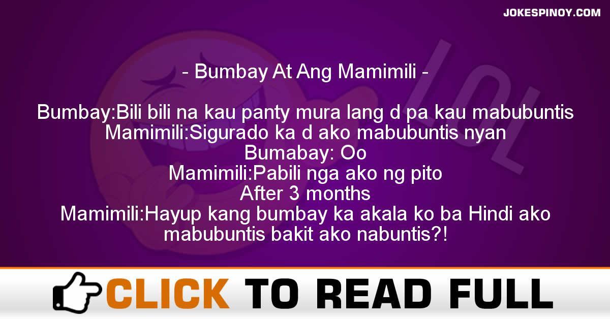 Bumbay At Ang Mamimili