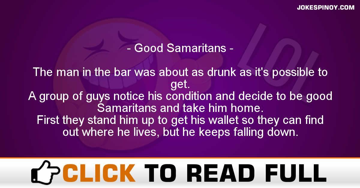 Good Samaritans