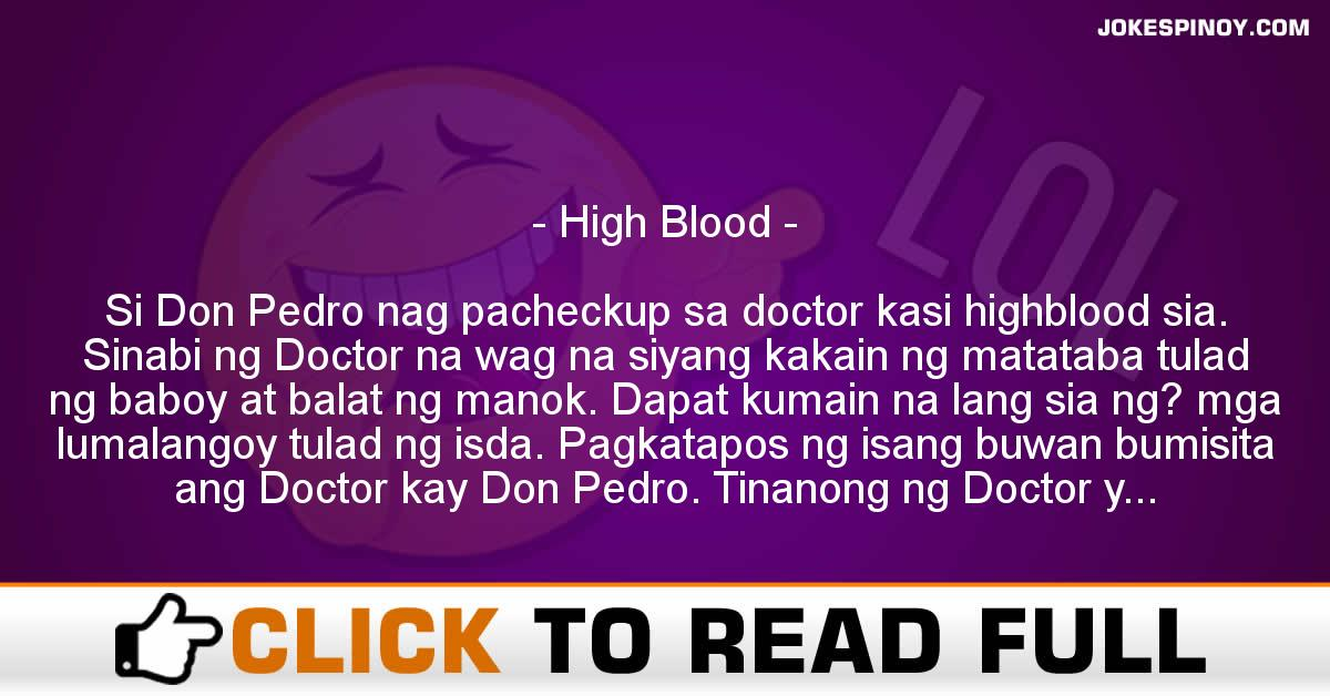 High Blood