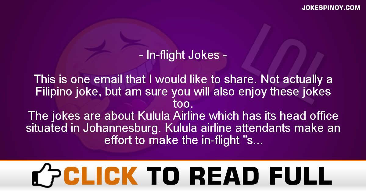 In Flight Jokes