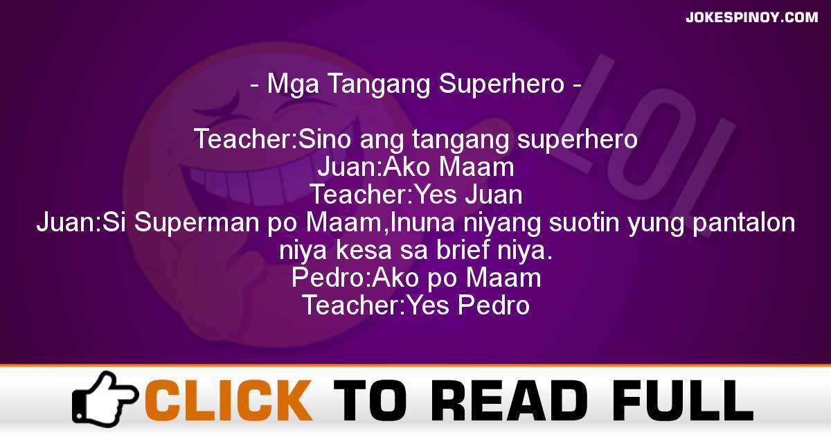 Mga Tangang Superhero