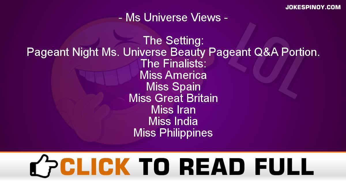Ms Universe Views