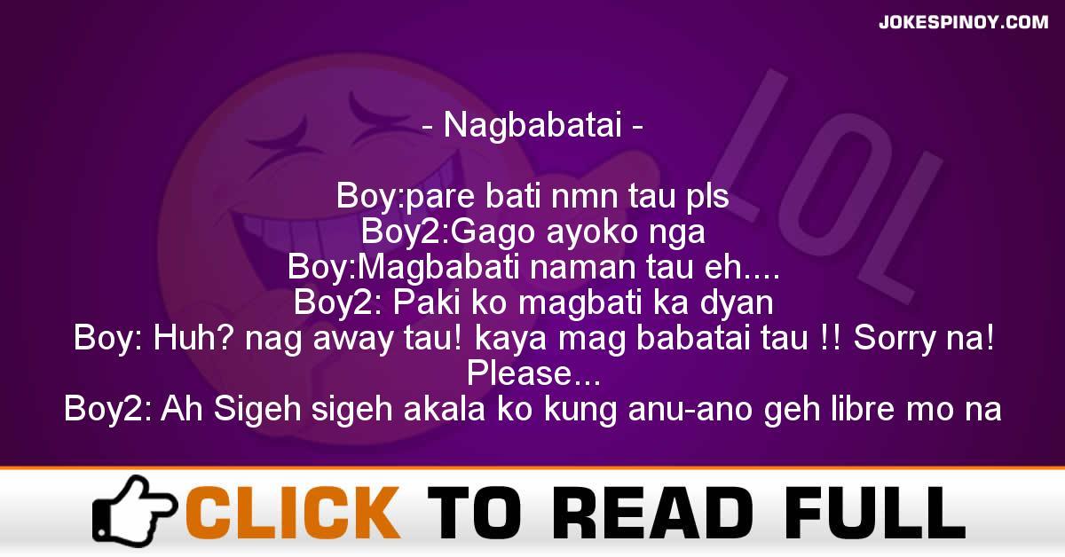 Nagbabatai