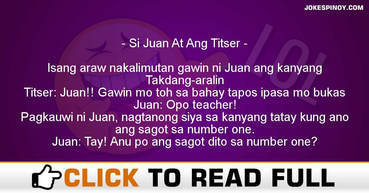 Si Juan At Ang Titser