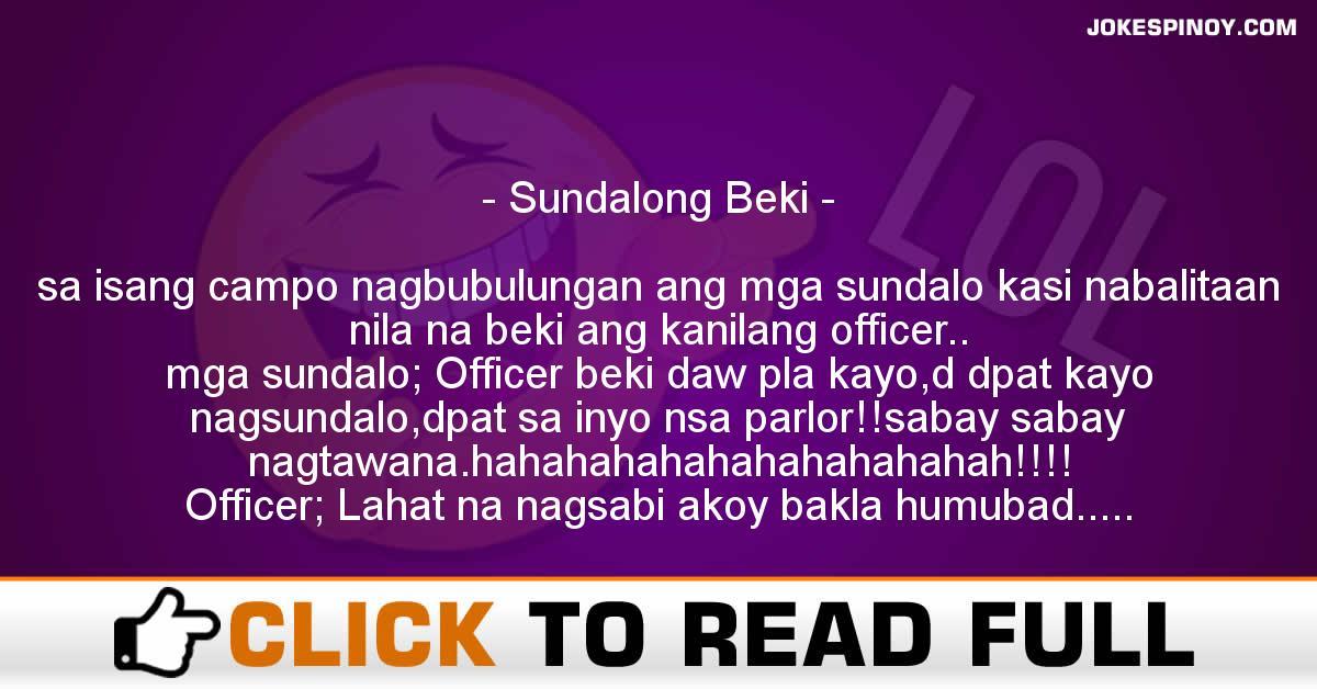 Sundalong Beki