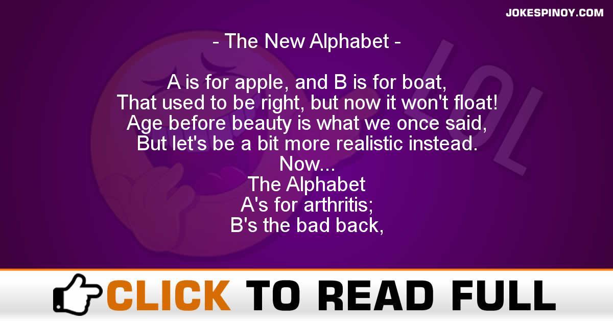 The New Alphabet
