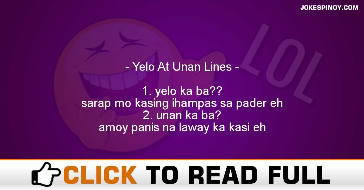 Yelo At Unan Lines