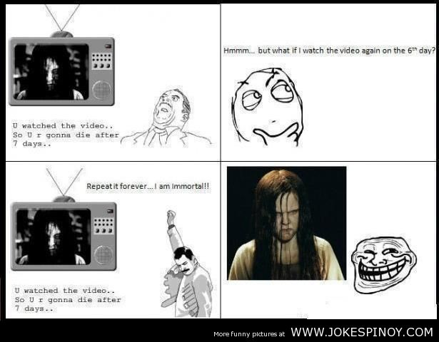 Horror Movie Troll Funny Picture