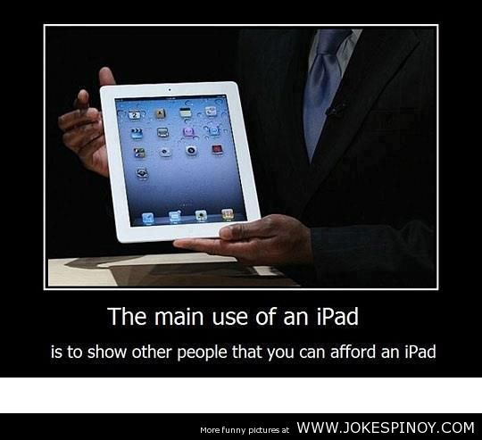 iPad Funny Picture