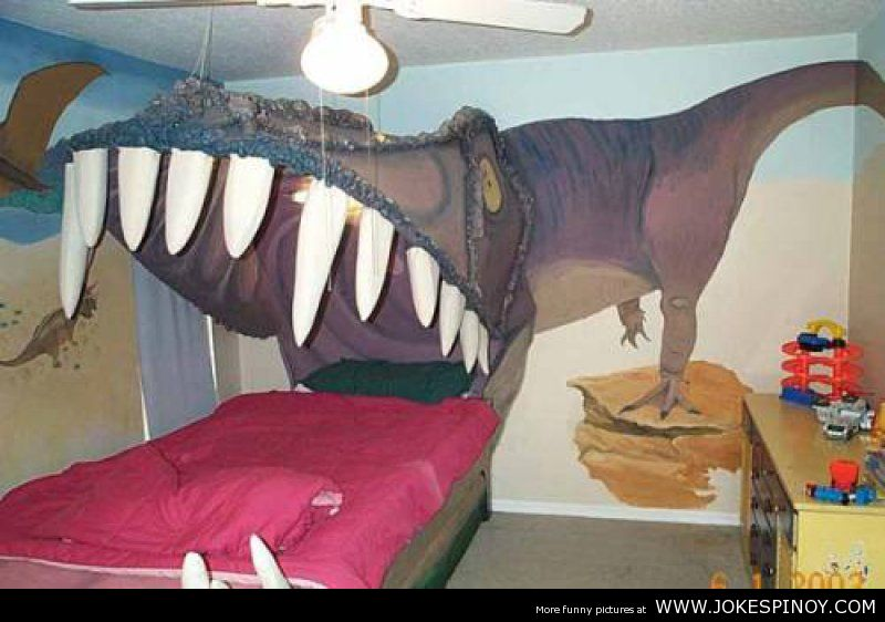 The Best Dinosaur Bed Youu0027ve Ever Seen
