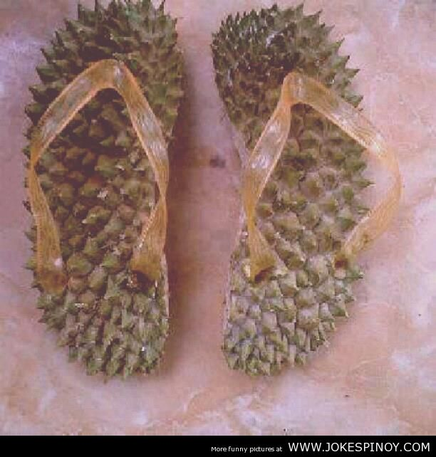 Durian Made Sandals Made in Davao