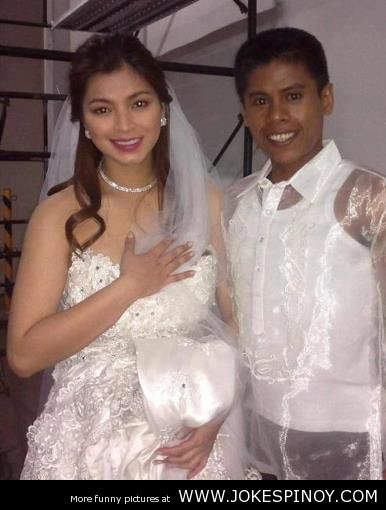 Angel Locsin's Weeding