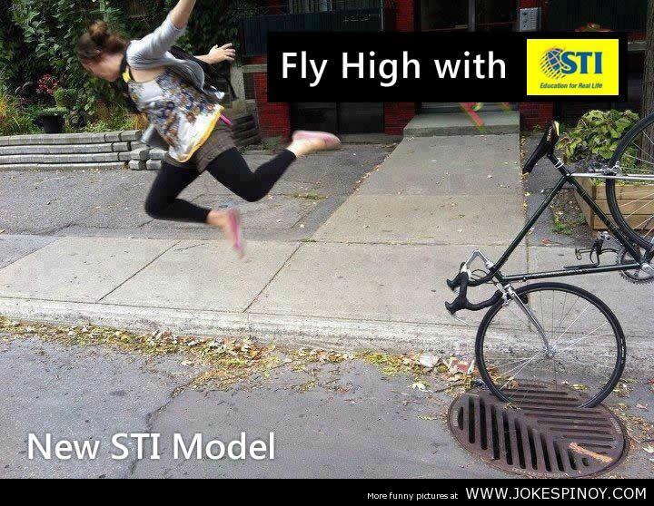 Fly High with STI Funny Picture
