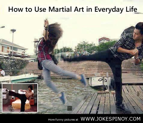 How to Use Martial Art in Everyday Life