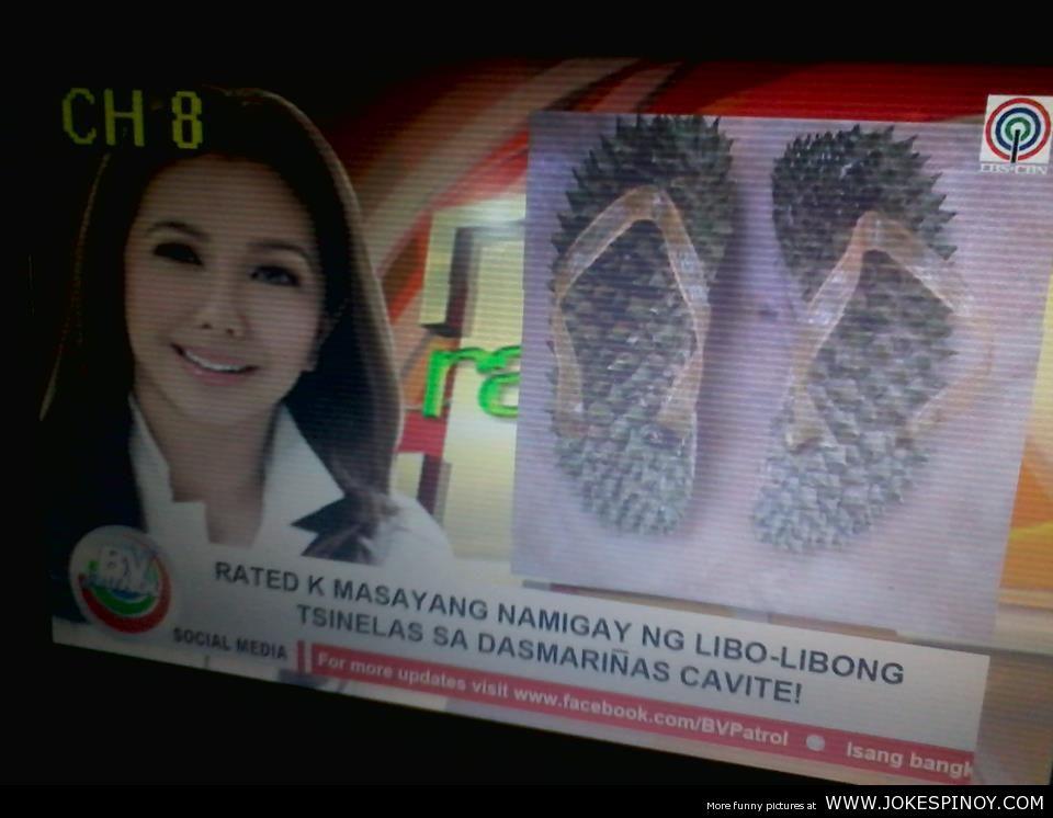 Rated-K Masayang Namigay ng Libo-Libong Tsinelas