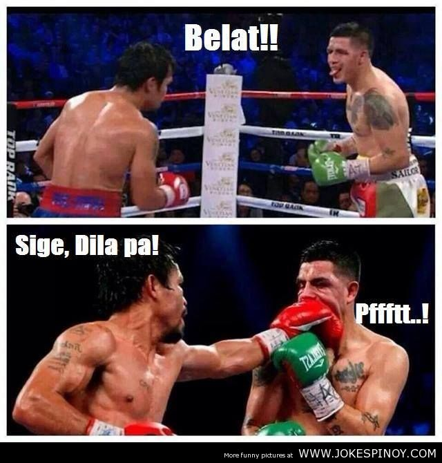 Pacquiao vs Rios Joke