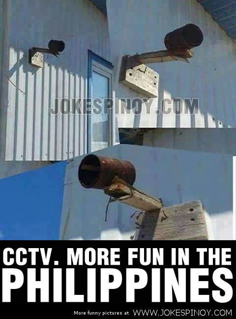 CCTV Camera is More Fun in the Philippines
