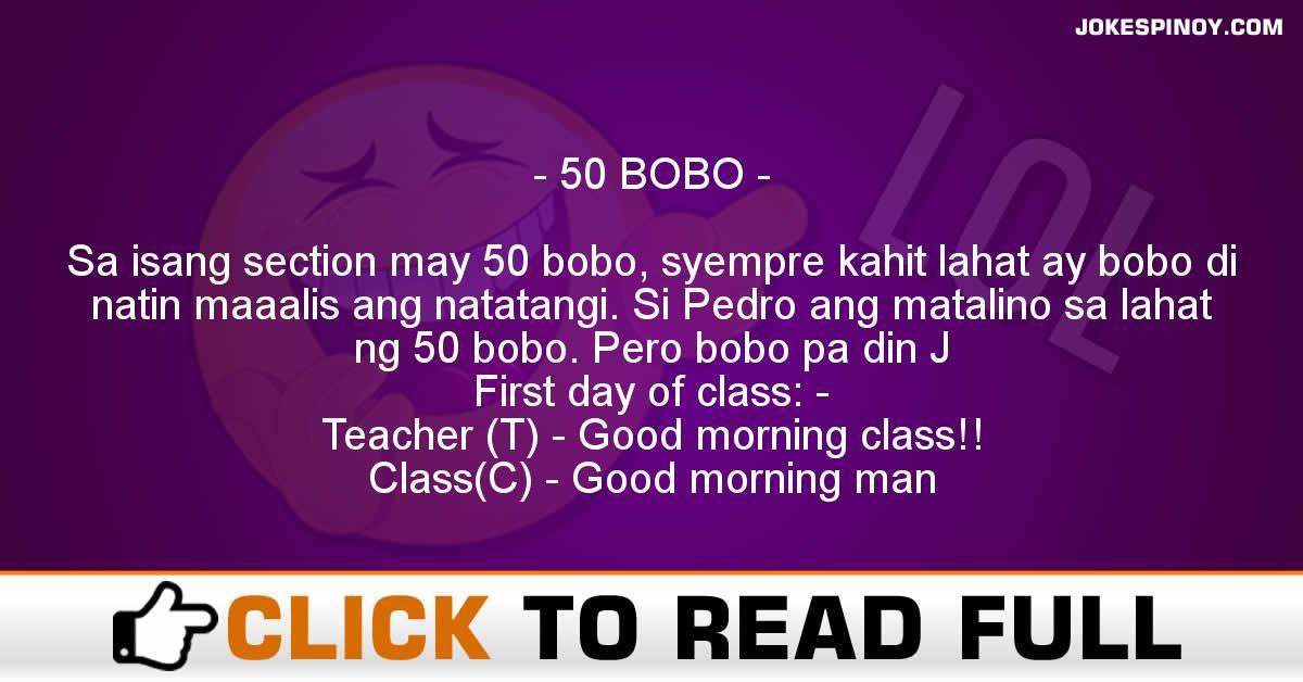 50 BOBO