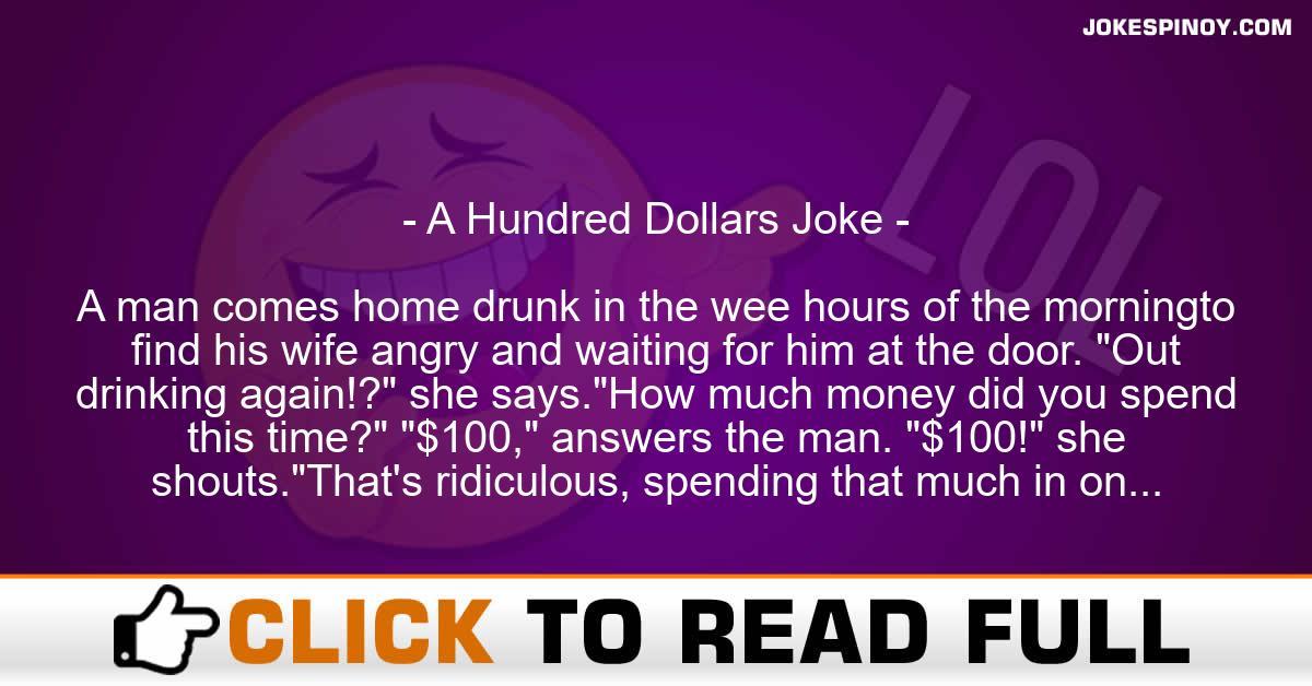 A Hundred Dollars Joke