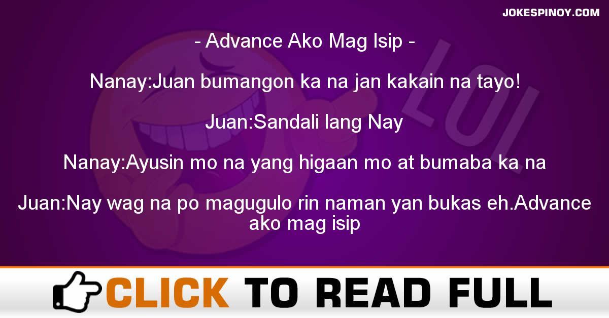 Advance Ako Mag Isip