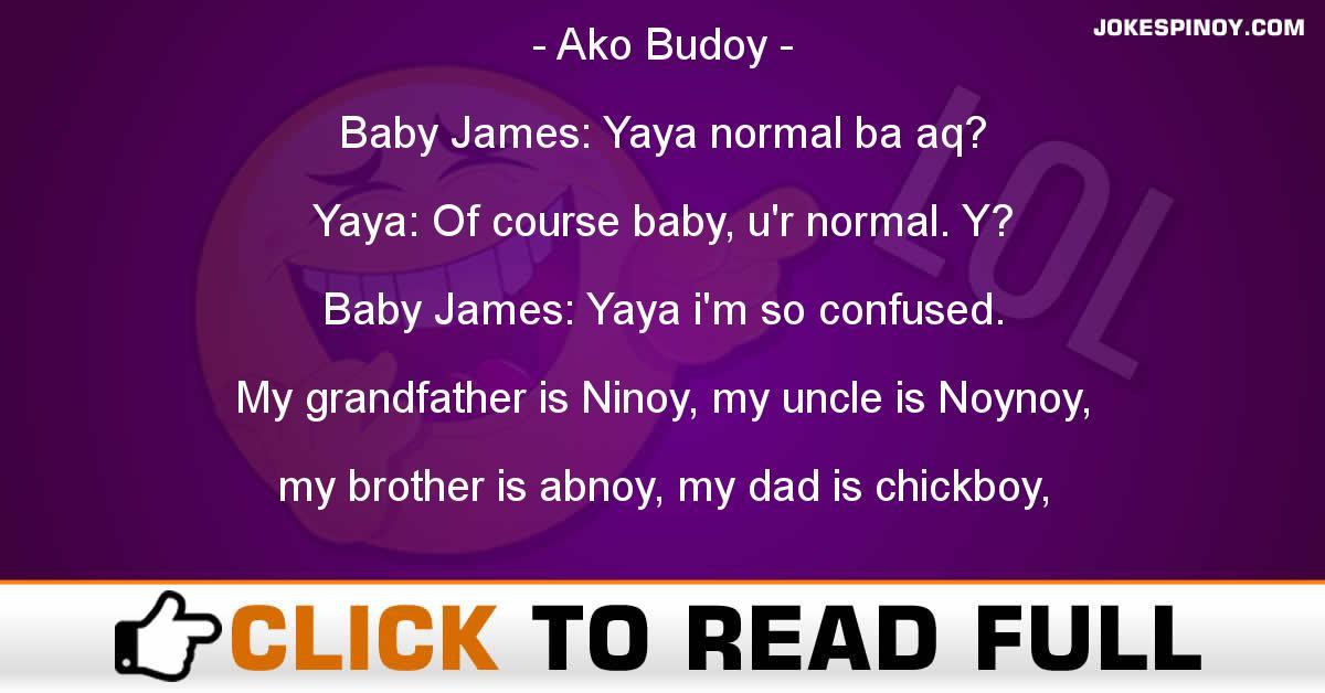 Ako Budoy