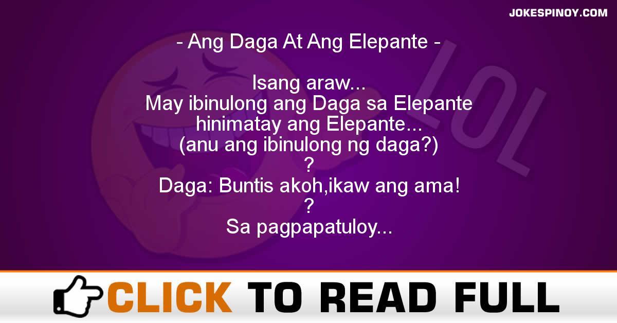 Ang Daga At Ang Elepante