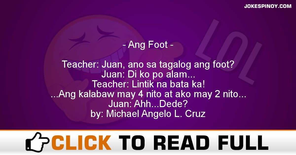 Ang Foot