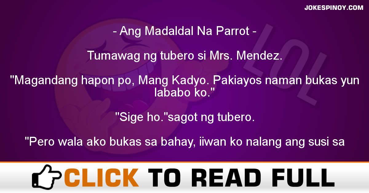 Ang Madaldal Na Parrot
