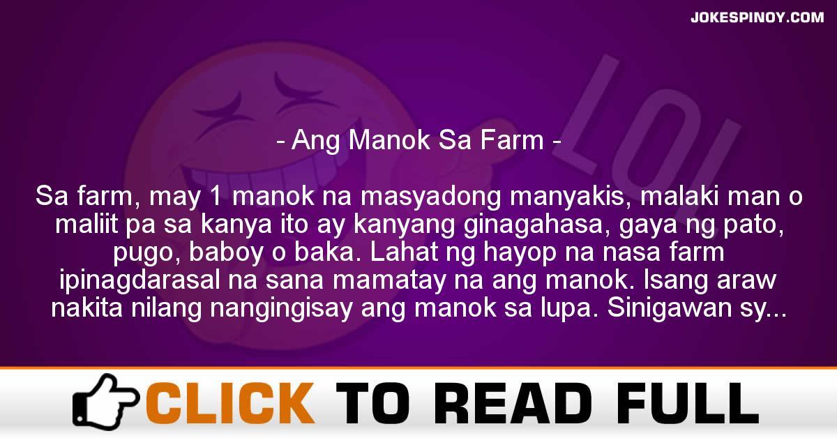 Ang Manok Sa Farm