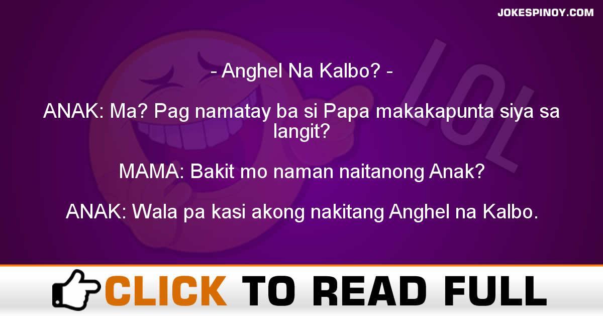 Anghel Na Kalbo?