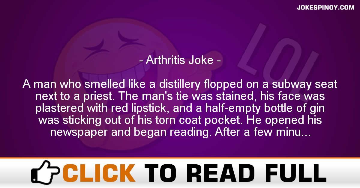 Arthritis Joke