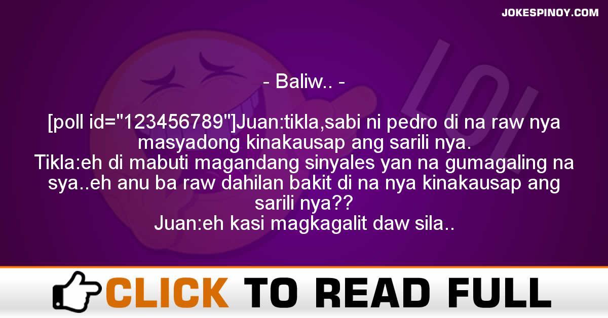 Baliw..