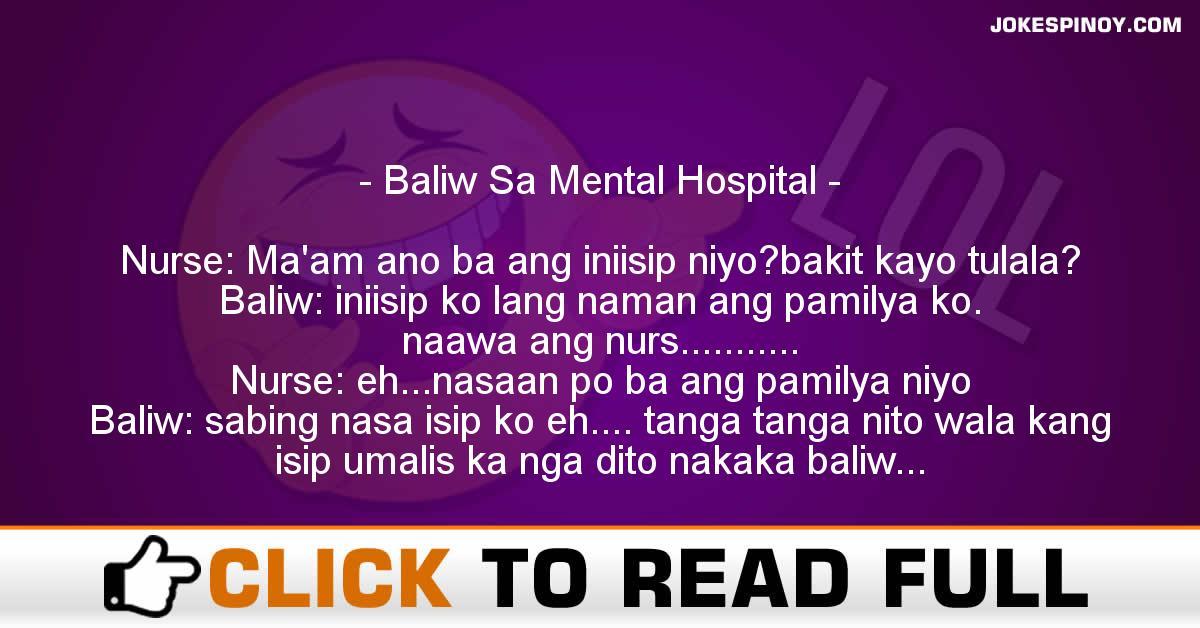 Baliw Sa Mental Hospital