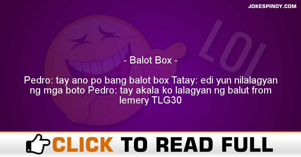Balot Box