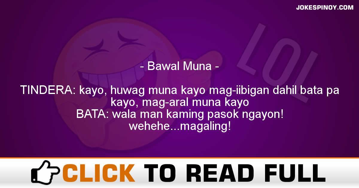 Bawal Muna