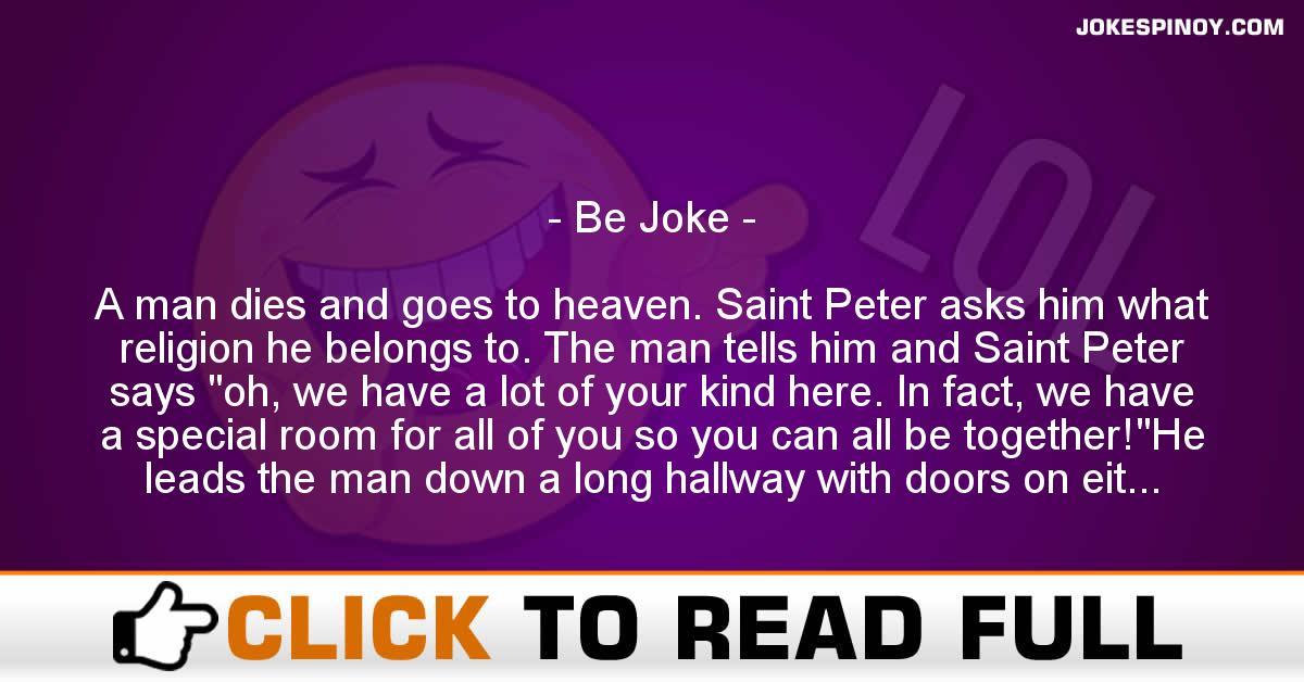 Be Joke