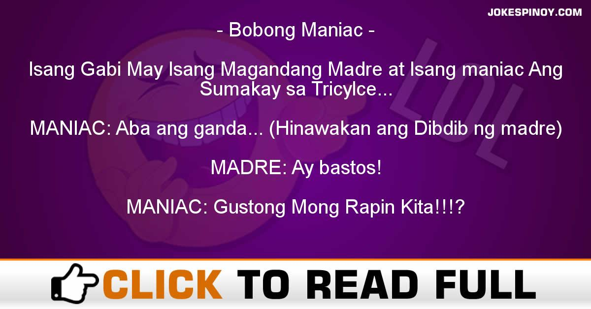 Bobong Maniac