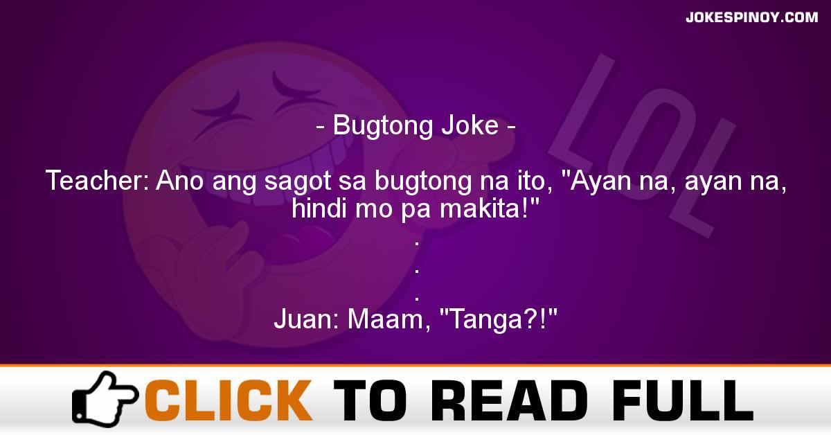 Bugtong Joke