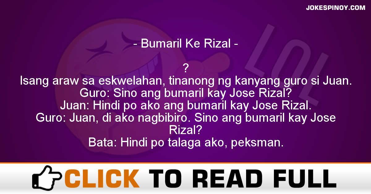 Bumaril Ke Rizal