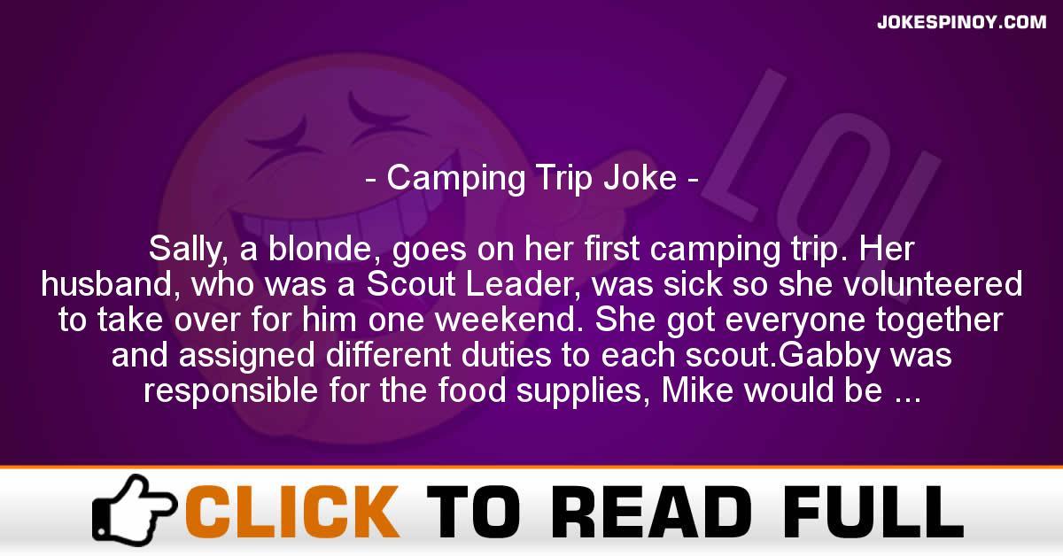 Camping Trip Joke