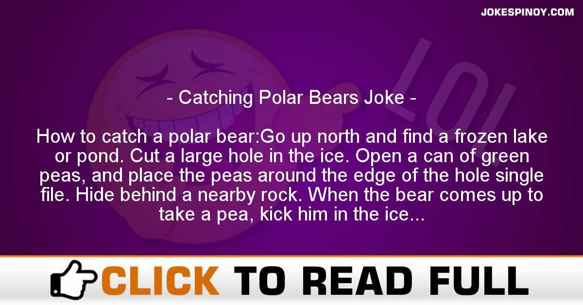 Catching Polar Bears Joke
