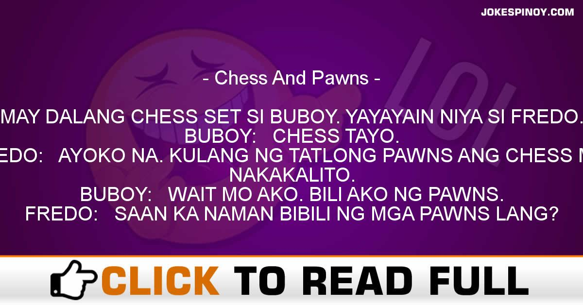 Chess And Pawns