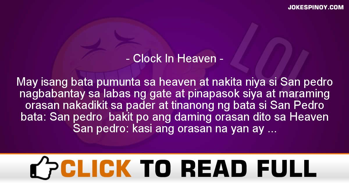 Clock In Heaven