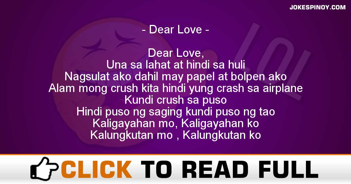bisaya love letter for her