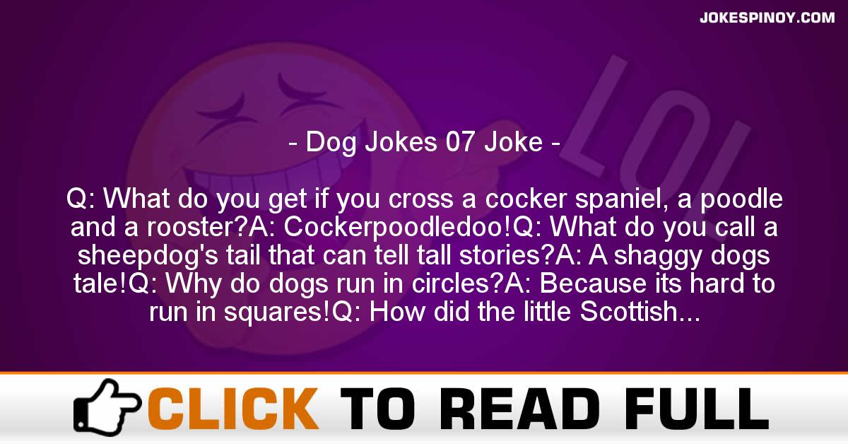 Dog Jokes 07 Joke