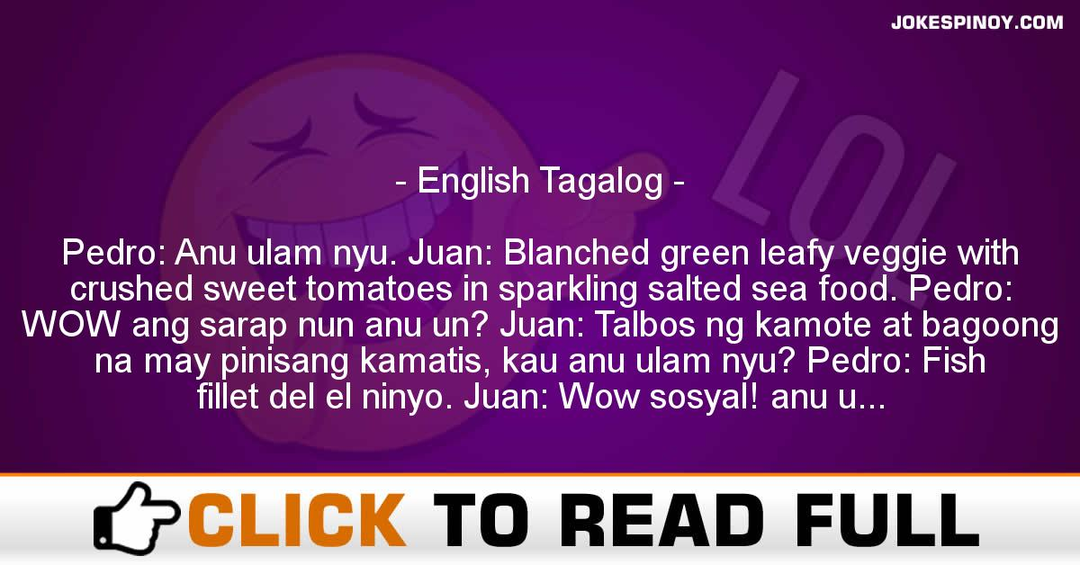 English Tagalog
