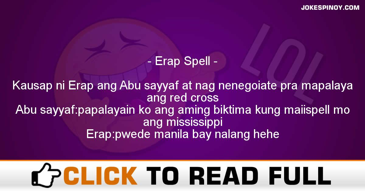 Erap Spell