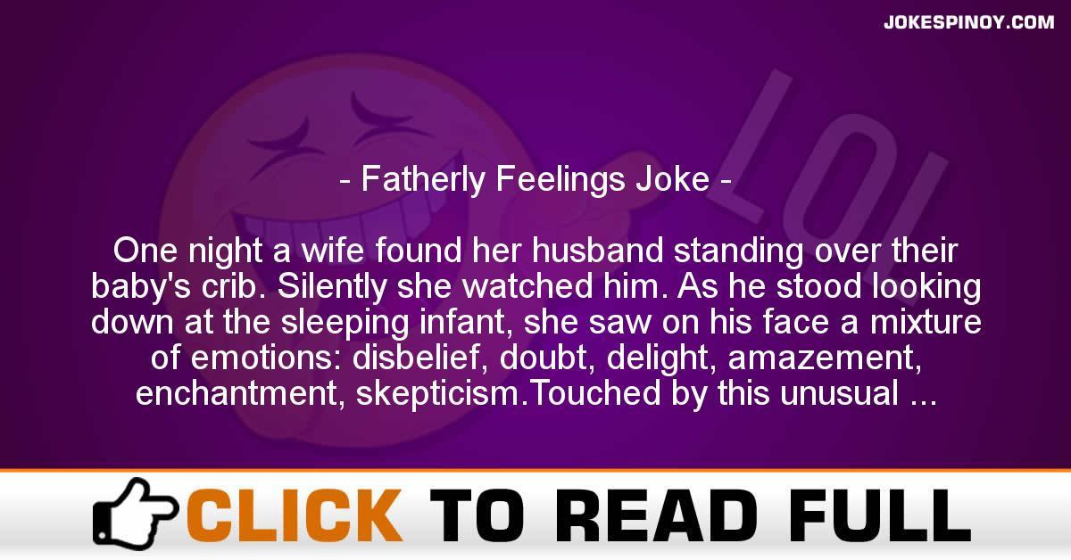 Fatherly Feelings Joke